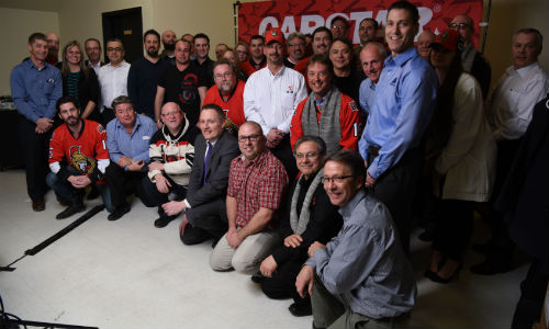 Industry stakeholders at CARSTAR's 3rd Annual Premier event. The event helped to raise funds for Cystic Fibrosis Canada.