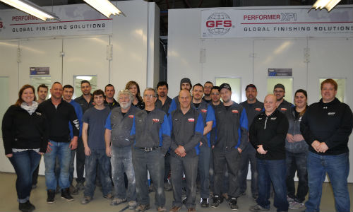 The team at CSN-Champlain Auto Body.