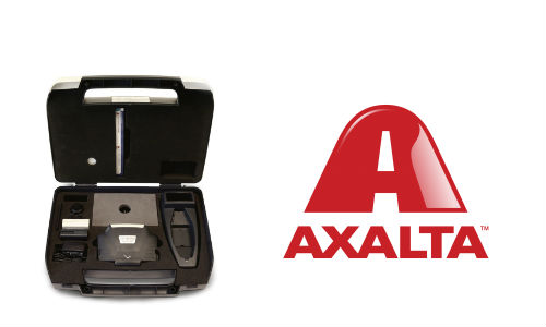Axalta's Acquire Quantum EFX, the company's new spectrophotometer. The unit integrates with Axalta's Acquire Color System.