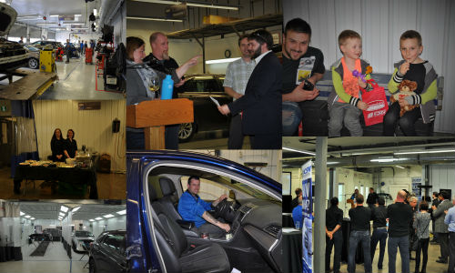 A few photos from CSN-Champlain Auto Body's open house and grand reopening event. Check out the gallery below for more photos!