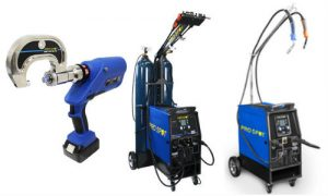 Pro Spot is offering free I-CAR training for Canadian shops that purchase the company's PR-5 Rivet Gun or its SP-5 (centre) or SP-2 Pulse MIG welders.