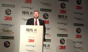 Thomas Lake, Senior Analyst, Political Risk for BMI Research. Lake's session at IBIS 2017 examined geopolitical factors impacting the global collision repair industry and automotive claims economy.