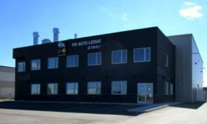 Fix Auto Leduc, the second facility for co-owners Kaz and Jerry Grudzien.