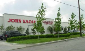 John Eagle Collision Center in Dallas, Texas. The shop, which has been ordered to pay $31.5 million in a settle due to repairs that didn't match OEM standards, has issued a joint statement with Tracy Law Firm saying it will help encourage other shops to follow the repair guidelines laid out by the OEMs.