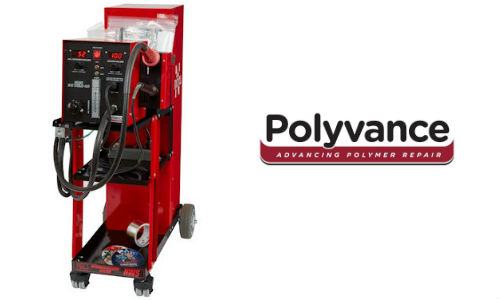 Polyvance has updated its line of nitrogen plastic welders. The 6080-CG, shown here, is still the company's top-line model, but it now comes with additional features and a lower retail price.