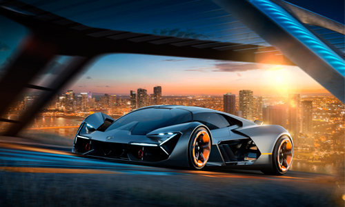 """The next generation of Lamborghinis, the carbon-fibre panels that make up the body will also have super capacitors in them. As a result the, """"... concept promises a car that will be able to continuously monitor the condition of its own structure, detecting wear and damage."""""""