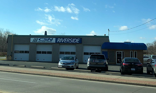 The new CSN Riverside location, located in Windsor, Ontario.