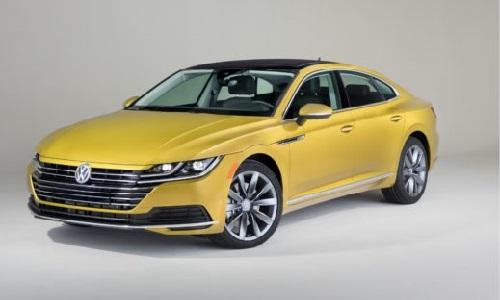 Volkswagen's 2019 Arteon model, courtesy of Repairer Driven News.