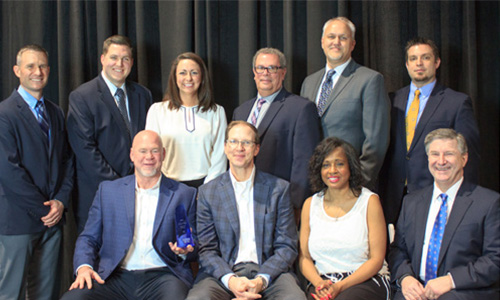 Program of the Year winner 3M, pictured with Sherwin-Williams Automotive Finishes team.