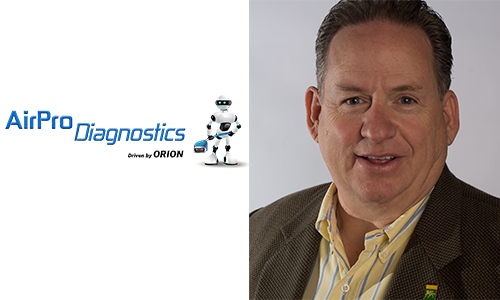 Michael Quinn, senior vice-president of business development at AirPro Diagnostics. The AirPro Diagnostics tool was developed to ensure that the safety systems of every collision damaged vehicle are diagnosed and recalibrated to OEM specifications.