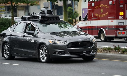 A woman was killed at the wheel of an Uber autonomous vehicle.