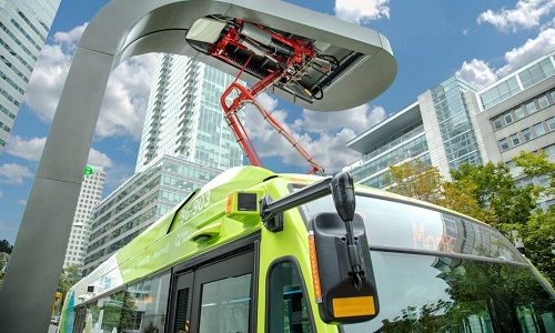 The new fleet of electric buses and charging stations will be the first of its kind internationally.