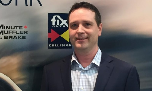 Mark Weeks, newly appointed general manager for Fix Auto Atlantic region.