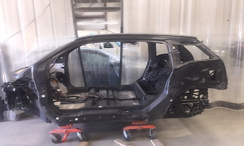 The I3 car shells, pictured above, will be present at the event for guests to check out.