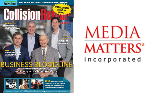 This issue of Collision Repair magazine focuses on celebrating the family businesses of the industry.
