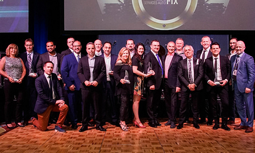 During the Fix Automotive Network (FAN) National Conference, held from May 3-5 in Niagara Falls, Ontario, awards were handed out to salute the achievements of franchise strategic partners from all brands in the FAN family.