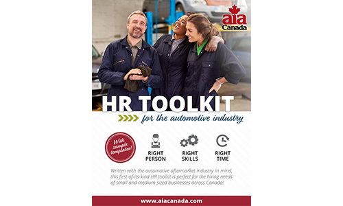 On June 13, the AIA will publish an online resource providing human resources support for businesses in the automotive aftermarket.