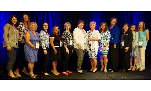 The 2018 WIN board members.