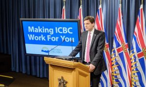 B.C.'s Attorney General David Eby announced a cap on minor injury claims.